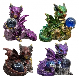 Fairies and Dragons Figurine: Kheops International