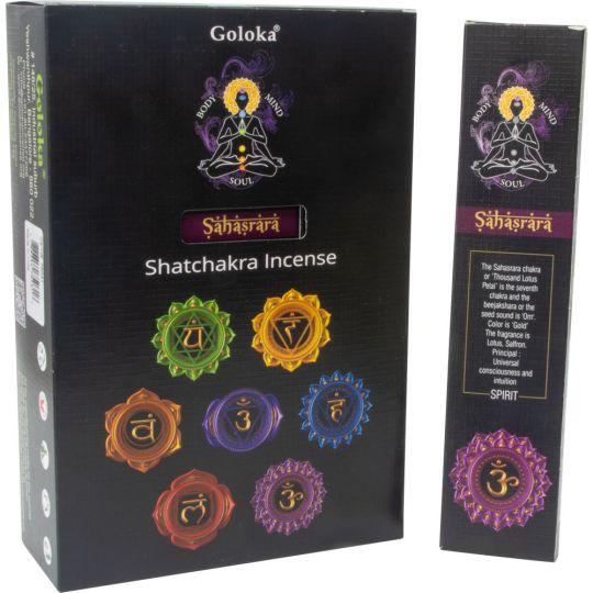 GOLOKA Natures Lavender Incense Box of 12 Packs