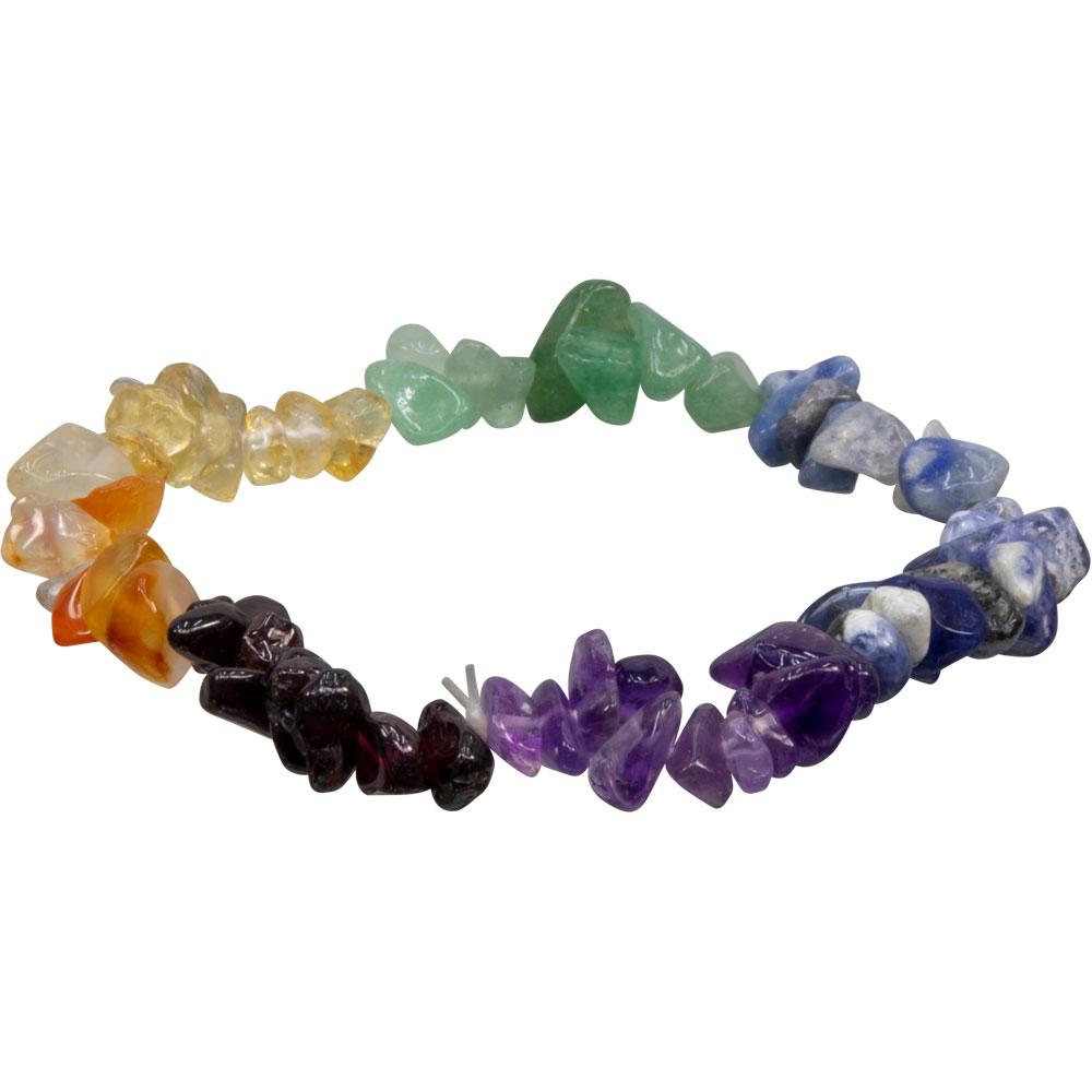 Bracelet rush 7 chakras