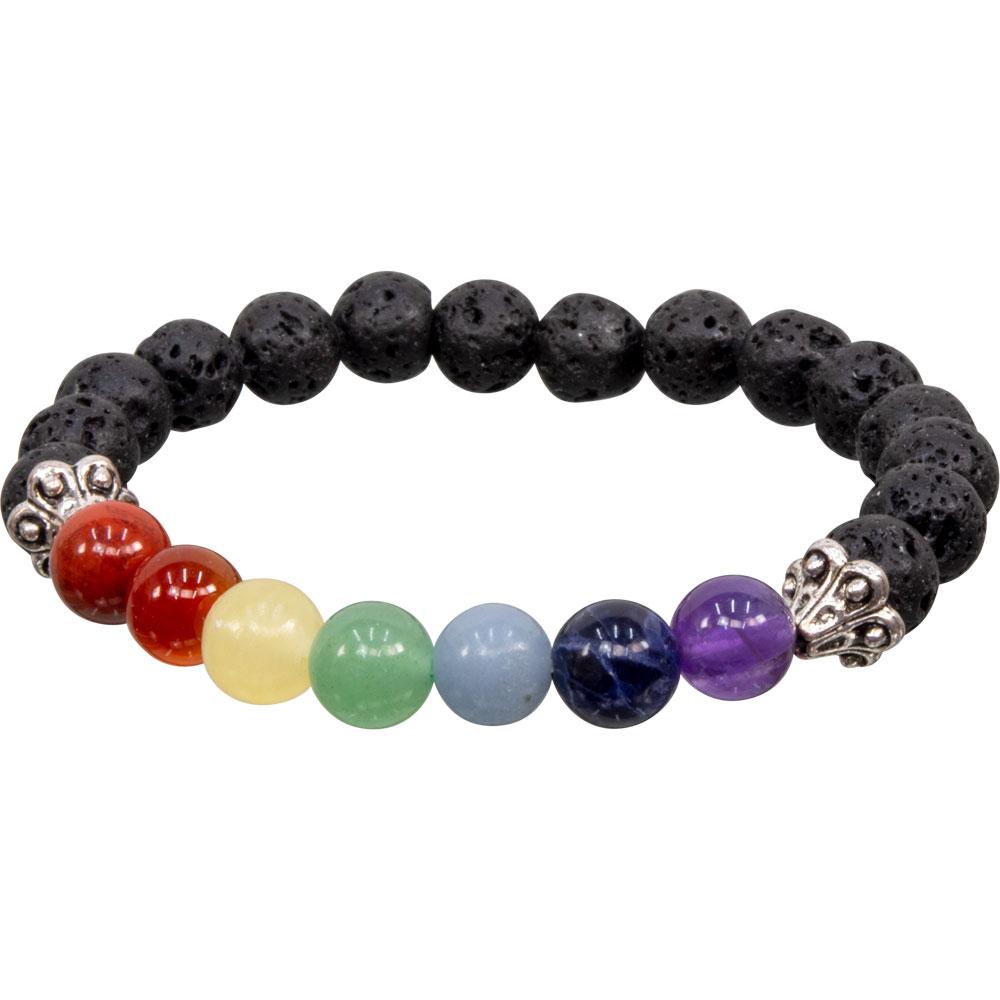 Natural Chakra Stone Bracelet Lapis Reiki Healing Balancing Round Yoga Beads 8 mm Bead Bracelet-FREE SHIPPING
