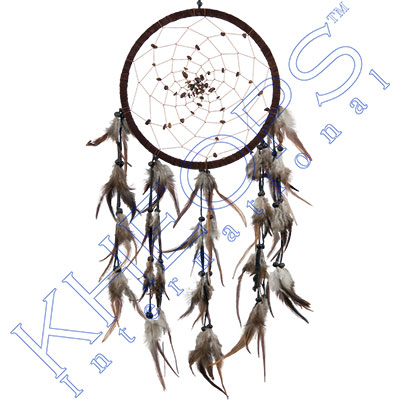 Dreamcatcher tiger eye beads spiral web brown each for Dreamcatcher beads meaning
