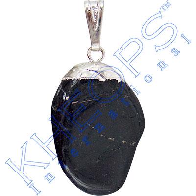 tumbled pendant black tourmaline each kheops
