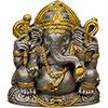Pewter Feng Shui FIGURINEs Ganesha (Each)
