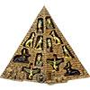 Egyptian Pyramid Display w/Egytian FIGURINEs (Each)
