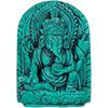 Turquoise Powder FIGURINE 1.5-inch Ganesha  (each)