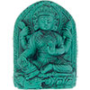 Turquoise Powder FIGURINE 1.5-inch Lakshmi  (each)