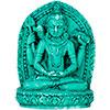 Turquoise Powder FIGURINE 1.5-inch Shiva  (Each)