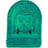 Turquoise Powder FIGURINE 1.5-inch Buddha Bust (Each)
