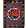 Cotton Single TAPESTRY Celtic Dragon  (Each)