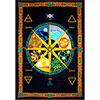 Cotton Single Tapestry  Pagan CALENDAR  (Each)