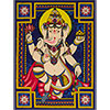 (DISC)Cotton Single TAPESTRY Ganesha (each)