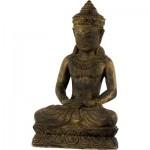 Volcanic Stone Statue Female Buddha