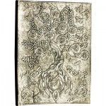Tree of Life White Metal Journal