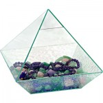 Glass Pyramid Case